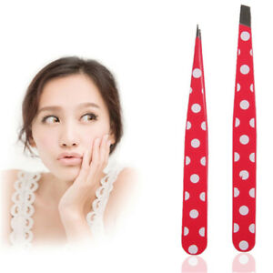 Pull Out Eyebrows Stainless Steel Hair Removal Eyebrow Tweezers Makeup Tools S