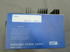 EST EDWARDS FIRE ALARM AUXILIARY POWER SUPPLY APS8B