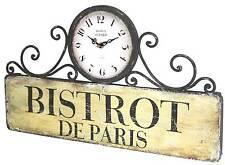 style ancienne horloge de gare cuisine salon bar d entrée bistrot 48cm murale