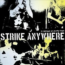 STRIKE ANYWHERE - IN DEFIANCE OF EMPTY TIME NEW VINYL RECORD