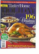 TASTE OF HOME, 2013 EDITION  BEST HOLIDAY RECIPES ( 196 CHRISTMAS CLASSICS )