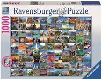 RAVENSBURGER*PUZZLE*1000 TEILE*99 BEAUTIFUL PLACES ON EARTH*NEU+OVP