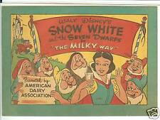Snow White & the Seven Dwarfs in Milky Way 1955