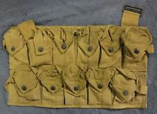 WWI US Military Ammo / Grenade Chest Pouch Earl & Wilson May 1918 VERY GOOD