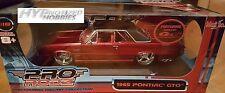 Maisto 1:18 Pro-Rodz 1965 Custom Pontiac GTO DIE-CAST RED 31065