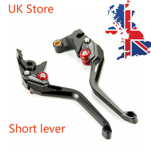 UK Short 5D Machined Brake Clutch Levers for Yamaha YZF-R125/125R MT-125 15-2020