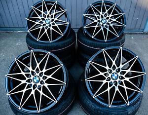 19 Zoll Axxion AX9 Competition Felgen 5x120 für BMW M Performance Paket F10 F11