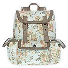 Olsenboye Floral Backpack with Braided Trim School Book Bag - NWT