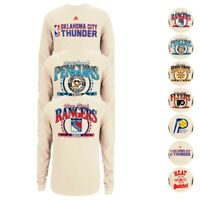 NBA & NHL Adidas Originals Assortment of Long Sleeve Ivory Thermal Shirt Men's