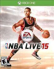 NBA Live 15 (Microsoft Xbox One, 2014) - COMPLETE
