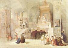 Vintage Art Postcard-Holy Land Landscape 3982-Chapel The Annunciation Nazareth