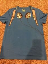 Jack Jones headphone & Backpack T shirt