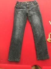 Pepperts! Boys Jeans, size 14, blue/navy, cotton, polyester adjustable Waist