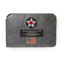 U.S. Roundel Felt Laptop Case, WWII Aviation, Vintage Aircraft  ACC-0102