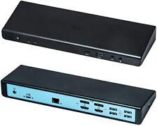 i-tec USB 3.0 / USB-C Docking Station 2x4K with Power Delivery 85W