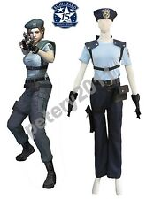 Custom-made Resident Evil 1 Jill Valentine S.T.A.R.S. Uniform Cosplay Costume