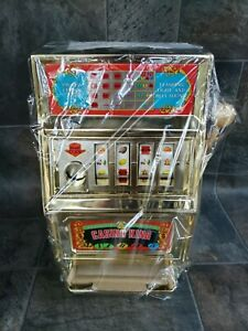WOW !! VINTAGE WACO CASINO KING TOY SLOT MACHINE. NEW. SEALED WITH BOXES