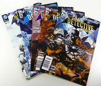 DC Comics BATMAN: DETECTIVE COMICS (New 52) #2 3 4 6 8 NEWSSTAND LOT Ships FREE!