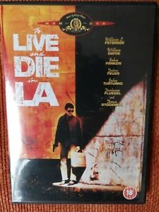 To Live and Die in L.A. DVD (2004) Willem Dafoe FREE UK POST