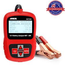 Ancel BST200 12V Car Battery Load Tester Battery Analyzer Lead Acid AGM GEL AU