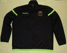 Northampton Saints / 2010's - MACRON - MENS 1/4-zip Softshell Sweatshirt. 5XL