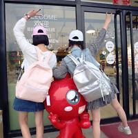 Women Leather Shoulder School Bag Backpack Travel Satchel Rucksack Handbag 0031U