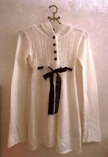 a8b05bc0f08a14 H&M Gr. 170 Strickjacke Mohair Jacke Cardigan Strick Weiß mit Spitze Kapuze  Neu