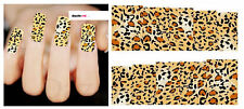 Nail Art Sticker Water Decals Transfer Stickers Leopard Print (DX1504)