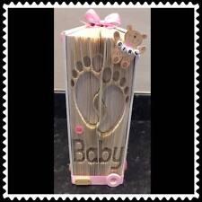 Baby Feet. Folded Book Art Folding PATTERN ONLY #1212