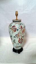 HANDPAINTED ORIENTAL CERAMIC TABLE LAMP 3342-4477