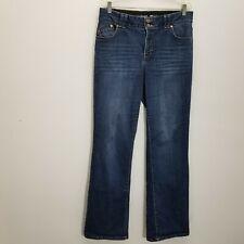 Lane Bryant Womens Boot Cut Jeans Sz 14 Tall Stretch Denim TTT Tighter Tummy Tec