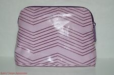 bareMinerals Bare Escentuals Cosmetic Makeup Bag Case Pink Purple NEW