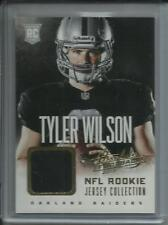Tyler Wilson 2013 Panini Absolute NFL Rookie Jersey Collection Relic #38