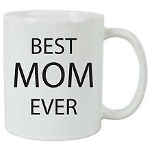 Best Mom Ever 11 oz White Ceramic Coffee Mug with Gift Box
