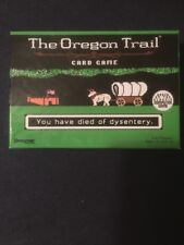 The Oregon Trail Card Game 2016 Version 100% Complete Pressman Minecraft Style