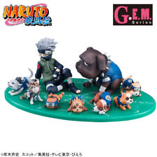 Naruto Kakashi and Dogs 1/9 Scale G.E.M Megahouse Figure NEW