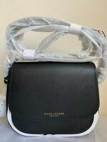 NWT Marc Jacobs Mini Rider Leather Crossbody Bag $295 Black ~~ Holidays Sale!!