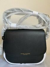 NWT Marc Jacobs Mini Rider Leather Crossbody Bag $295 Black ~~ Holidays Sale!!