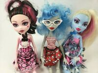 Monster High 3-Pack Dot Dead Gorgeous Complete Mattel Doll 2012 Discontinued