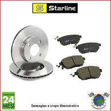 Kit Dischi e Pastiglie freno Ant Starline AUDI A5 A4 #bw