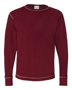 J America Men's Vintage Long-Sleeve Thermal T-Shirt JA8238 S-3XL