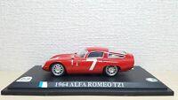 1/43 DelPrado 1964 ALFA ROMEO TZ1 #7 diecast racing car model