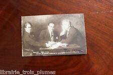 ✒ P.S. Tabé Tadeusz STYKA peintre polonais POLOGNE signature autographe sur CPA
