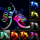 Fashion LED Flash Luminous Light Up Glow Strap Shoelace Shoe Laces Party Disco