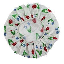 Tapones Reutilizables Tapones de Cubierta de Cabeza de Ducha Estampado Floral