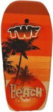 NEW TWF EPS Lightweight Boogie Board with Leash - Orange Beach