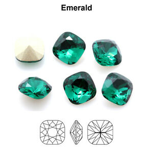 Genuine AURORA A4470 Round Square Fancy Stones Crystals * More Colors & Sizes