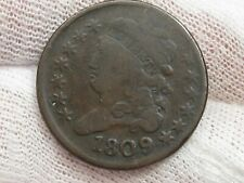 1809 Classic Head Half Cent.  #27