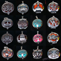 Wholesale Aromatherapy Essential Oil Diffuser Pendant Necklace Jewelry Making