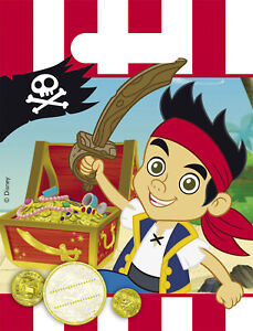 Jake and the Neverland Pirates Party Bags, Loot Bag, Sweet Bag, Gift Bag